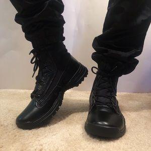 Nike field boots
